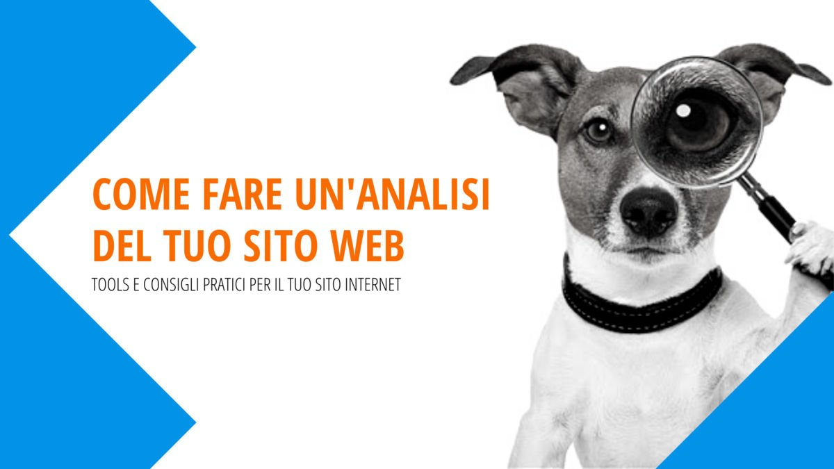 come fare analisi sito web